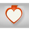 Valentines copy space vector image
