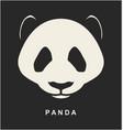 image of Chinese Panda Bear vector image