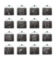 Construction and home renovation icons vector image vector image