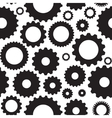 Gear Icon Seamless Pattern vector image
