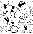 Background from leaves vector image vector image