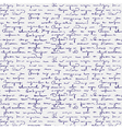 Seamless abstract handwritten vector image vector image