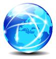 Europe Global Communication vector image