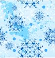 snowflakes design vector image