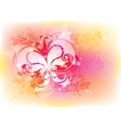 abstract with butterfly vector image