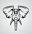 Elephant Tribal vector image vector image