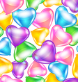 Balloons in shape of heart vector image