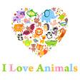 AnimalsLv vector image