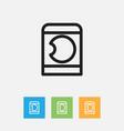 of kin symbol on washing vector image