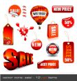 sale signage vector image