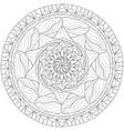 Mandala Zentangle vector image