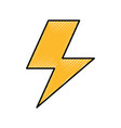thunder ray isolated icon vector image
