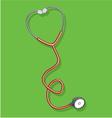 stetoskop2 vector image vector image