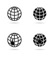 icon for internet vector image