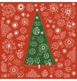 Christmas-tree vector image vector image