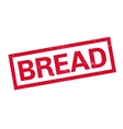 Bread rubber stamp vector image