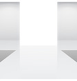 fashion runway or catwalk vector image vector image