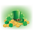 St Patricks Day symbolics vector image