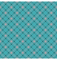 Seamless flower pattern background EPS 8 vector image vector image
