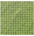 green mosaic vector image vector image