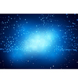 Blue Nebula vector image