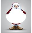 Santa christmas design vector image
