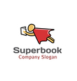 Super Book Design vector image