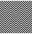 Seamless zig zag background vector image
