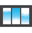 Nature background blue sky and cloud element 003 vector image vector image