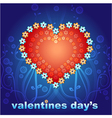 valentines day two vector image