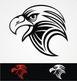 Eagles Head Mascot vector image vector image