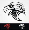 Eagles Head Mascot vector image