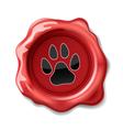 seal wax cat vector image