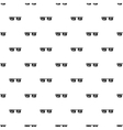 Smart glasses pattern simple style vector image