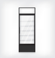 Commercial refrigerator vector image vector image
