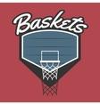 Basketball Team Logo vector image