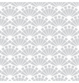 Gray Fans Texture Seamless Pattern vector image vector image