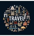 travel historic architecture of the world vector image