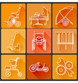 The equipment for people with disabilities Set of vector image