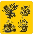 Off-Road symbols - set vector image
