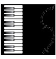 piano vector image