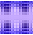 Blue Halftone Patterns vector image