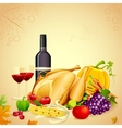 Thanksgiving Dinner vector image