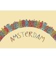 Amsterdam card vector image