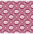 Repeating floral pattern in eastern style of vector image