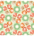 Decorative seamless background pattern vector image