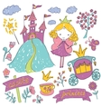 Fairy Tale Princess vector image