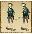 Zombie cartoon character for animation vector image