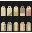 grunge tags - vector image