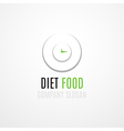 Food Logo Concept vector image vector image
